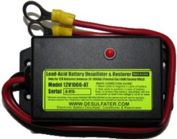 12V1000 Electronic Battery Desulfater, Conditioner and Reactivator